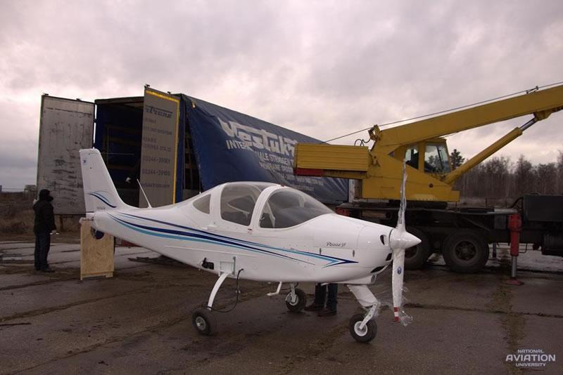 Национальный Авиационный Университет получил еще два самолета Tecnam