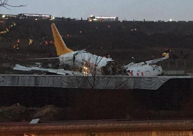 Катастрофа в аэропорту Сабиха Гекчен - арестован капитан самолета