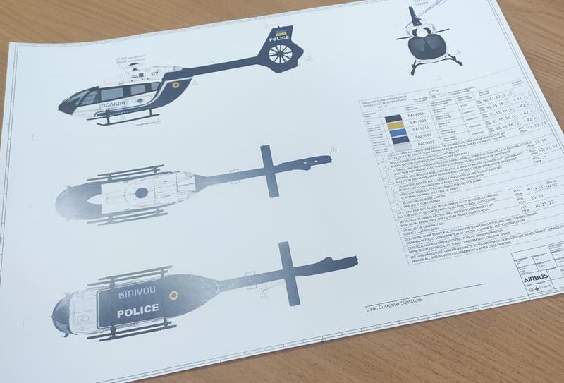 Национальная полиция ожидает первый вертолет Airbus в июне