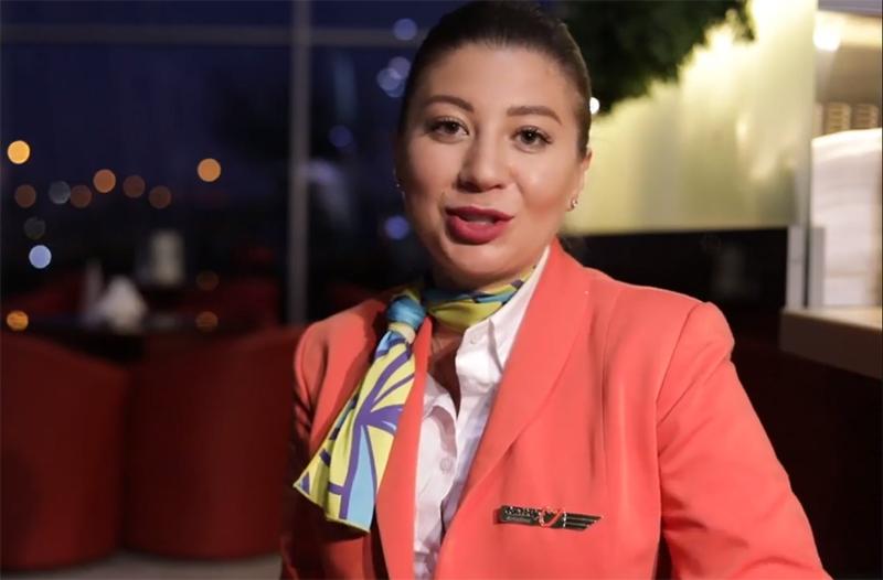 О жизни бортпроводницы SkyUp Airlines