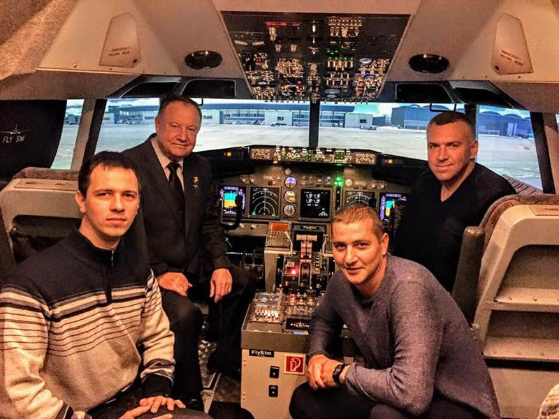 В Украине будет процедурный тренажер Boeing 737