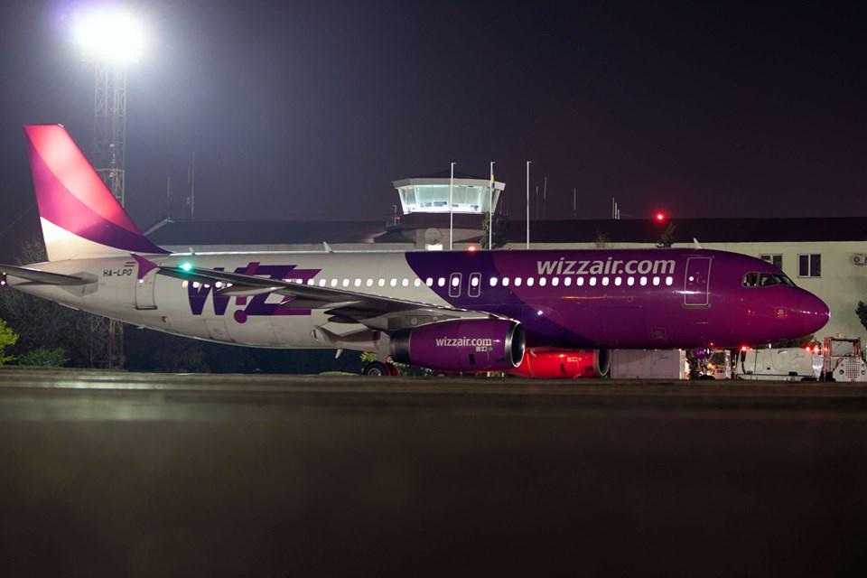 WizzAir приостановит рейсы в Одессу