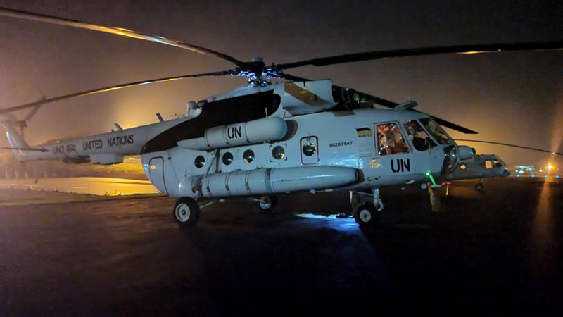 Началась подготовка очередной ротации 18 отдельного вертолетного отряда