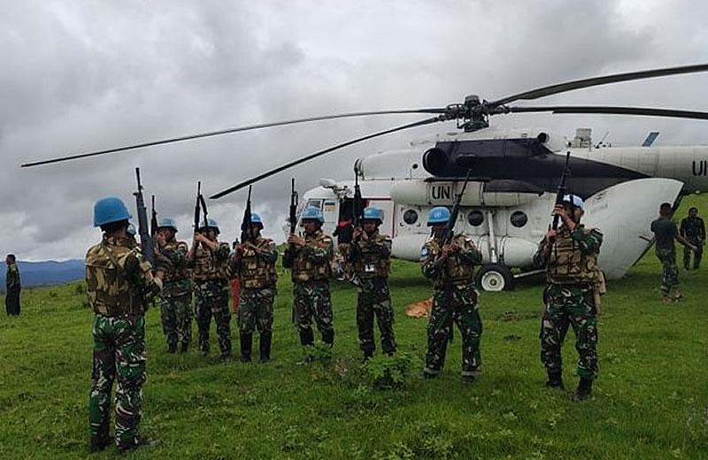 Украинские миротворцы обеспечили ротацию индонезийского контингента Миссии ООН в Конго