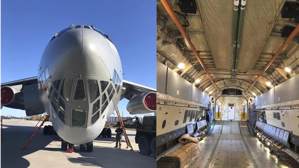 Ил-76 доставит из Китая медицинский груз