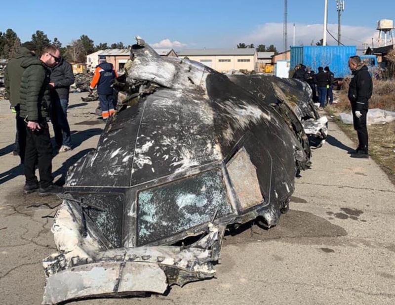 Иран согласился передать Киеву черные ящики с лайнера МАУ, сбитого в Тегеране