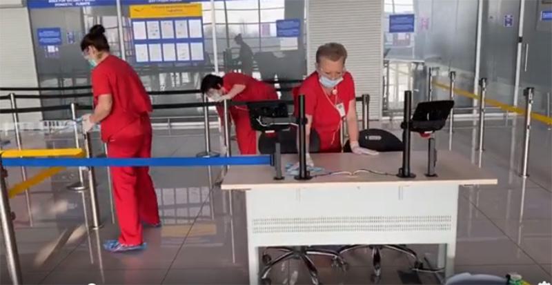 Вниманию пассажиров: аэропорт Харьков работает в штатном режиме