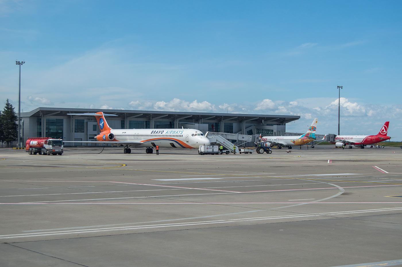 Аэропорт Харьков увеличил пассажиропоток вполовину
