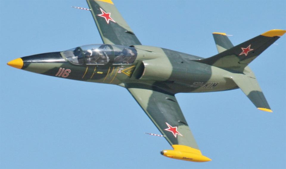 В России разбился самолет L-39
