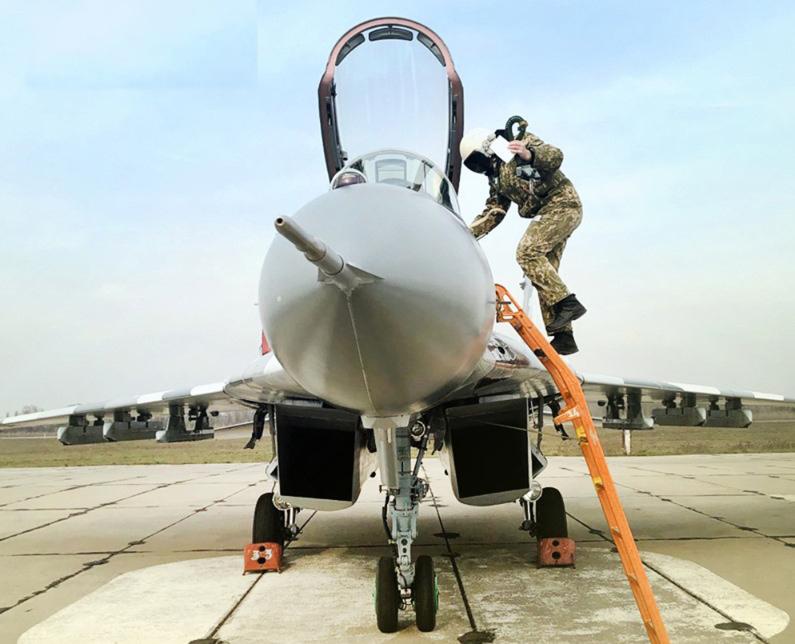 Воздушные Силы получили модернизированный МиГ-29