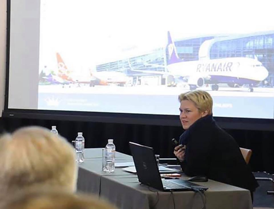 Гендиректор аэропорта Львов пообещала рейсы в Италию с конца марта