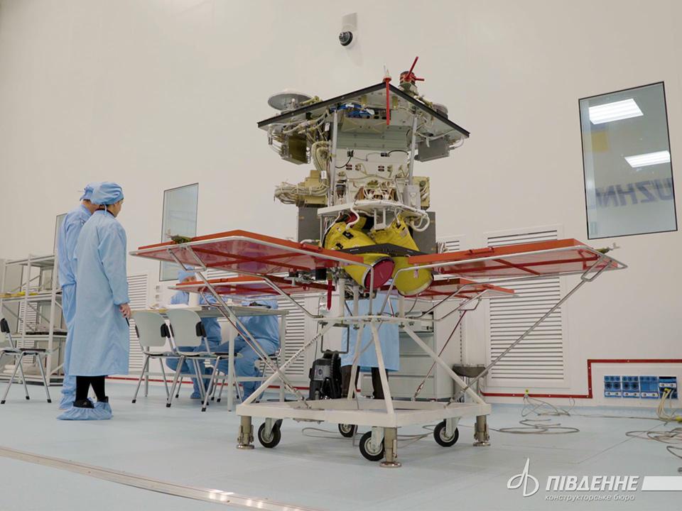 Днепропетровская область частично профинансирует запуск спутника Сич-2-1