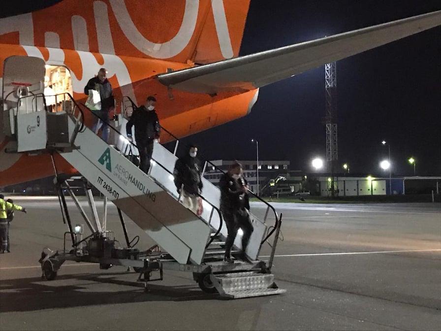 SkyUp выполнила 100 рейсов и вернула в Украину более 20 000 пассажиров