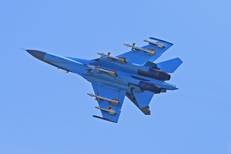В Одессе провели ротацию истребительного звена