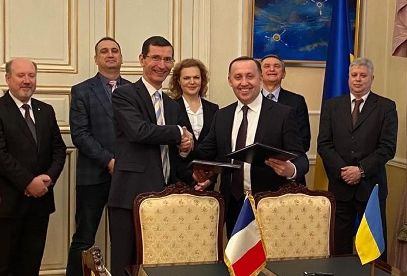 Украина будет сотрудничать со Францией в области авиастроения, ПВО и БПЛА