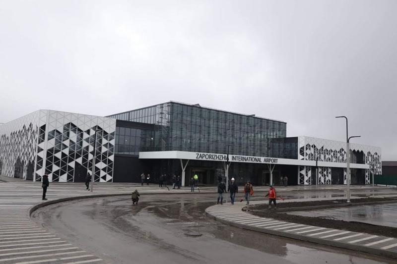 Аэропорт Запорожье увеличил пассажиропоток на 37%