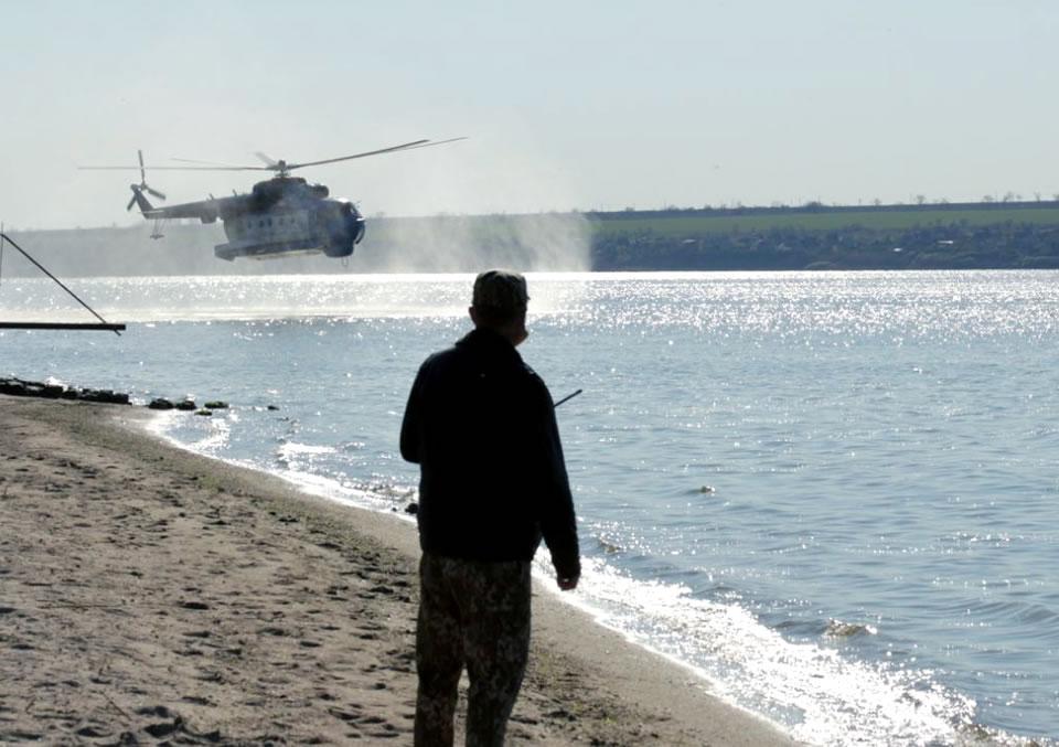 Морская авиация отработала очередную летную смену