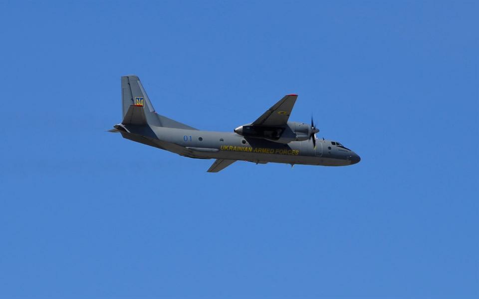 В Бориспольской транспортной авиабригаде состоялись командирские полеты