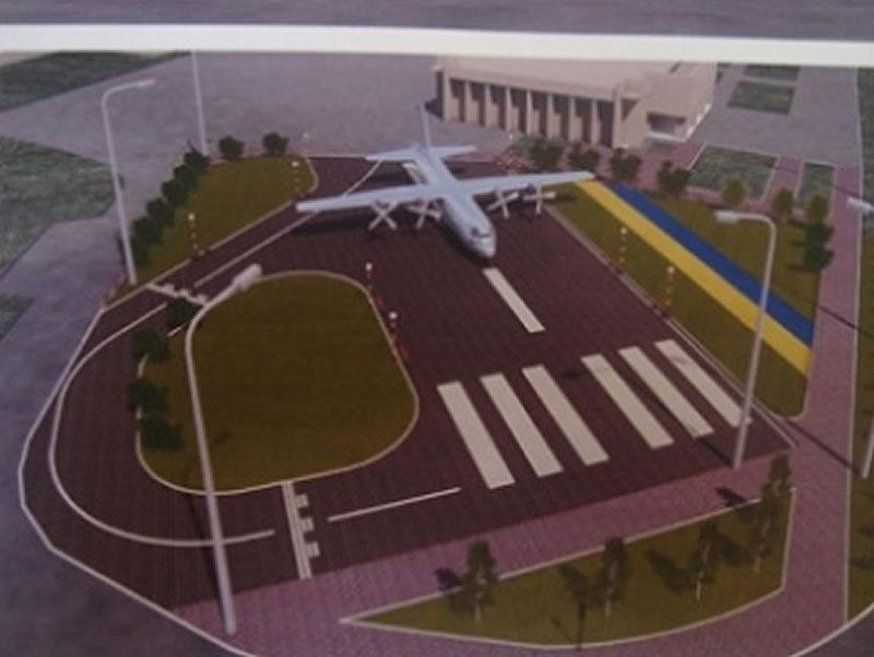 Самолет Ан-26Ш, который должен стать памятником в Мелитополе, разберут и доставят за 597 тысяч ...