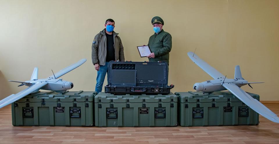 Главный центр подготовки ГПСУ получил новые БПЛА