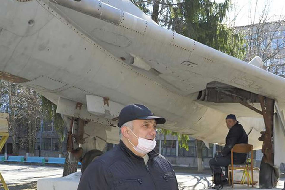 Чугуевский авиазавод реставрирует Су-7Б