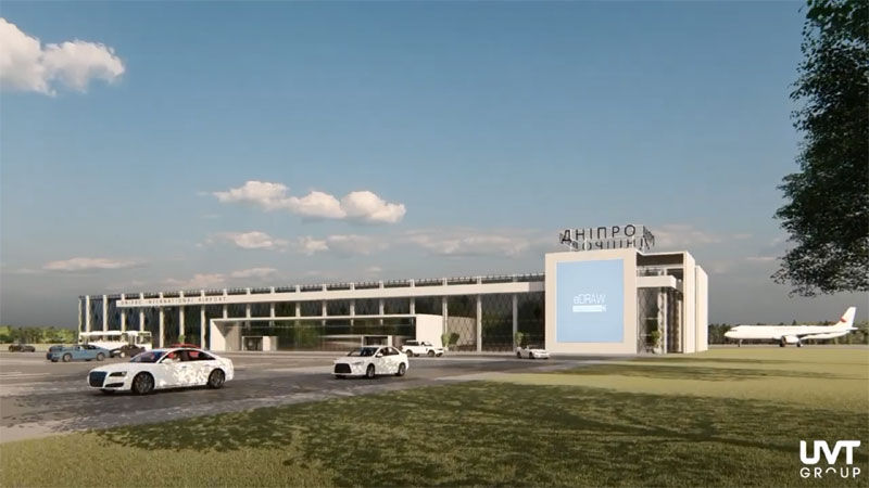 Проводится оценка воздействия нового аэропорта Днепра на окружающую среду