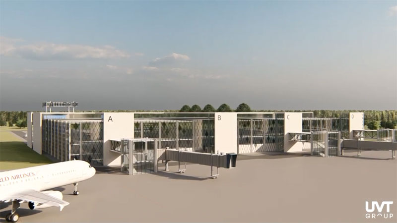 Утвержден план территории аэропорта