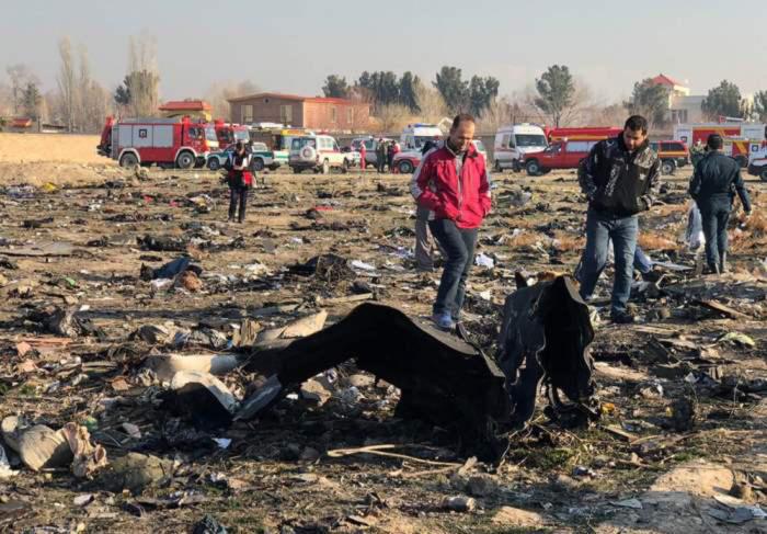 Иран отложил расшифровку черных ящиков сбитого самолета МАУ