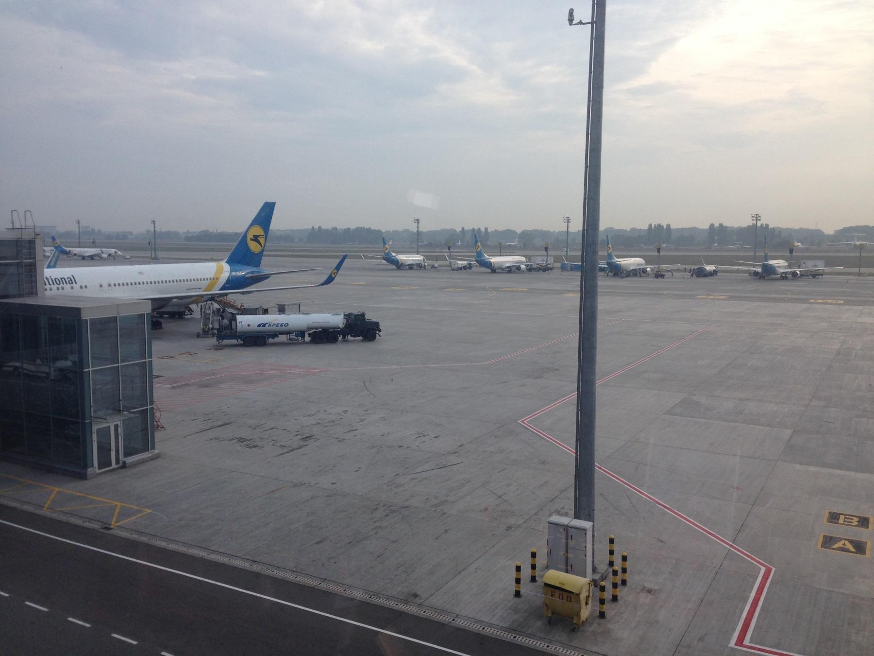 Пассажиропоток украинских аэропортов в 1 квартале снизился на 9%