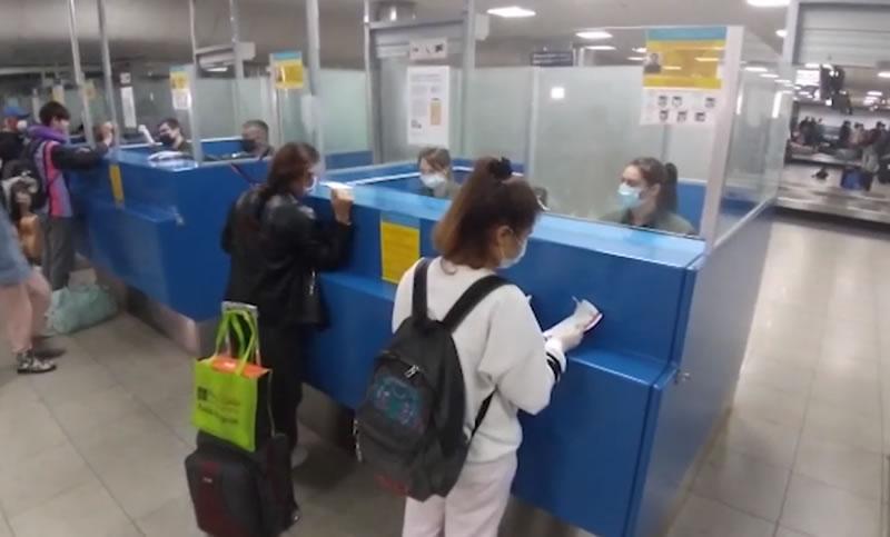 В «Борисполе» пограничники оформили эвакуационный рейс из Майами