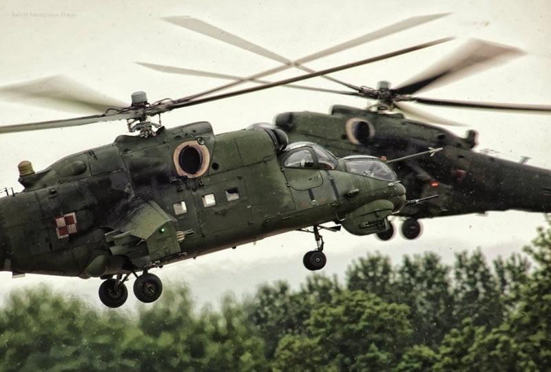 Израиль поможет модернизировать польские Ми-24