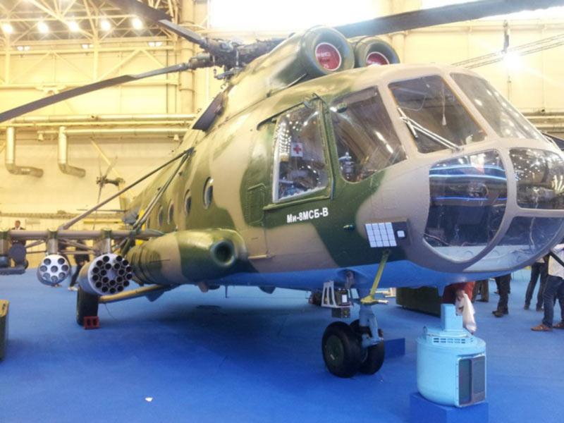 Украина разрабатывает ударную версию вертолета с управляемыми ракетами дальностью 10 км