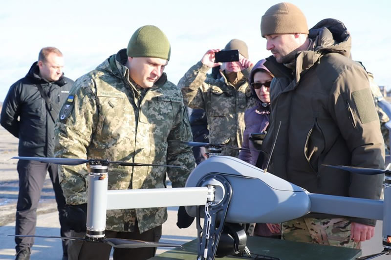 Ударные БПЛА Украины