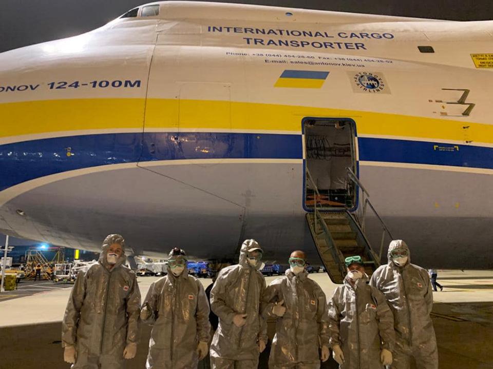 Программа перевозок Авиалиний Антонова загружена до мая