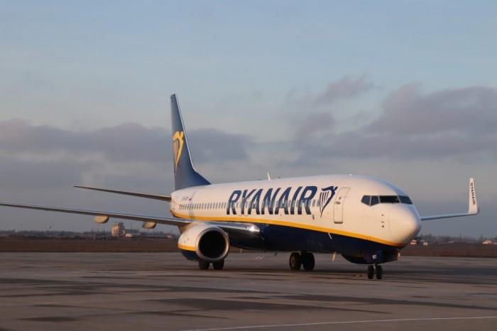 Ryanair получила временные права на выполнение рейсов из Италии в Украину