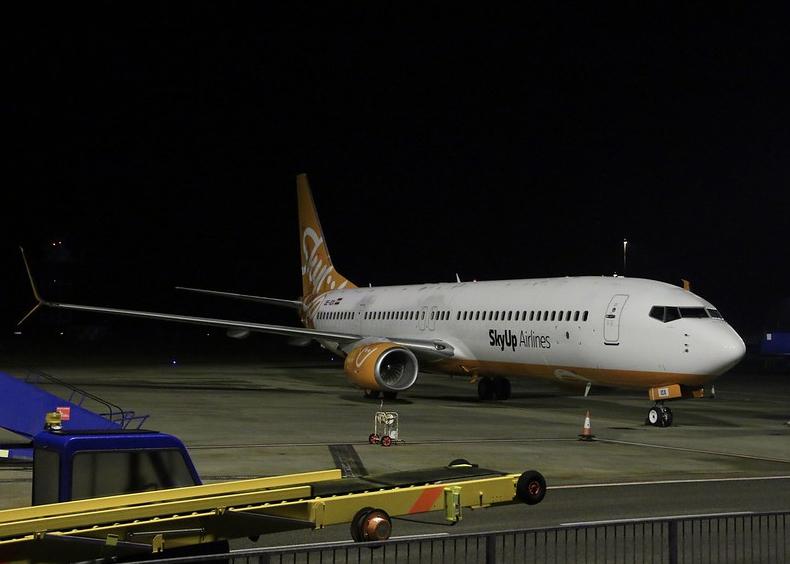 Авиакомпания SkyUp выполнит спецрейс во Франкфурт
