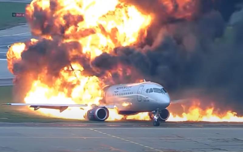 В России завершили расследование катастрофы SSJ-100 в 2019 году