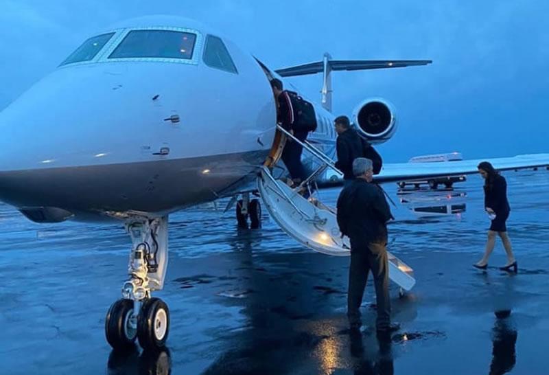 Чартерный рейс доставил 15 украинцев из США в Киев