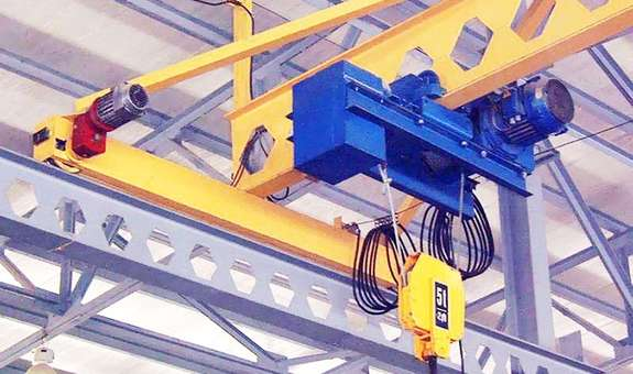 Продукция завода грузоподъемного оборудования в Тюмени