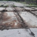 В Кропивницком неизвестные демонтируют взлетную полосу