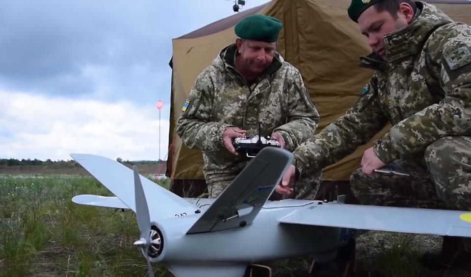 Пограничники учатся воздушному мониторингу с помощью «Лелеки»
