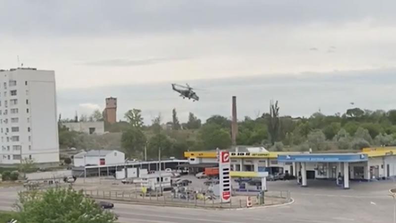 Ми-35 оккупантов разбился в Крыму