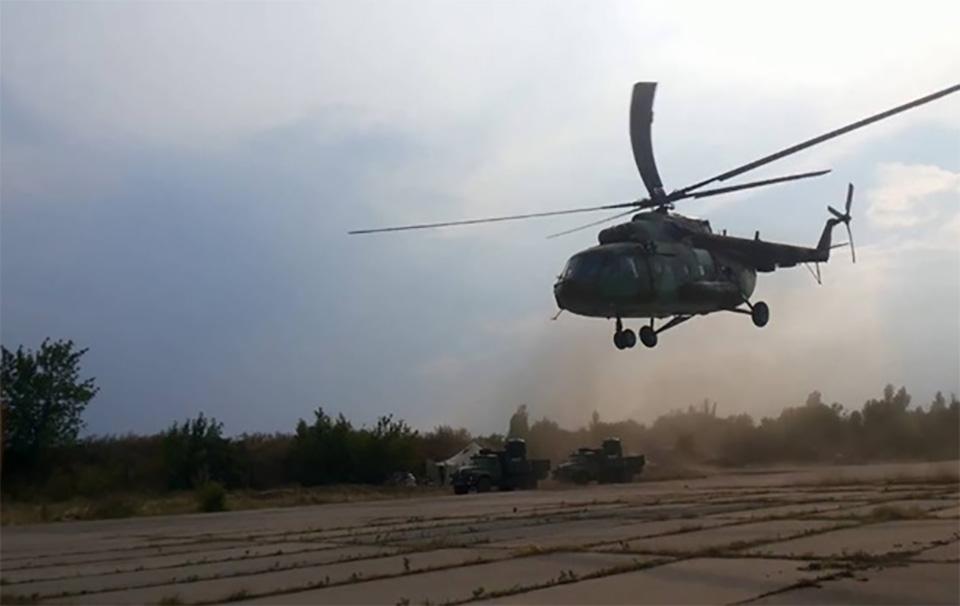 Дело о падении военного вертолета Ми-8 направили в суд
