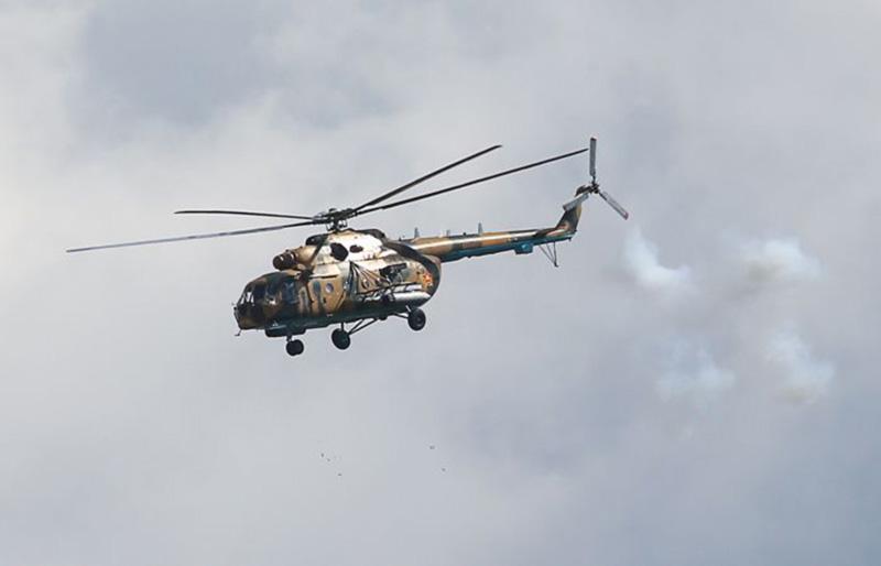 В России разбился военный вертолет. Четверо погибших