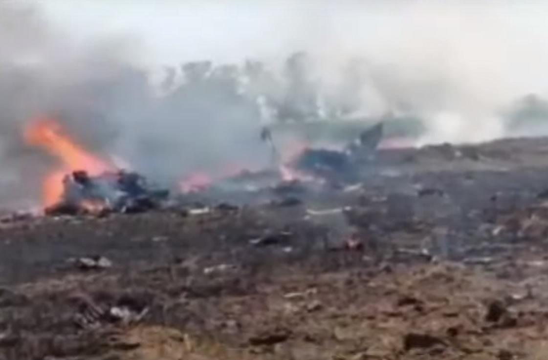 В Индии разбился очередной МиГ-29