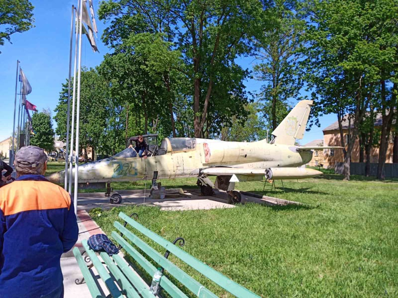 Полтавский авиамузей собрал Л-39