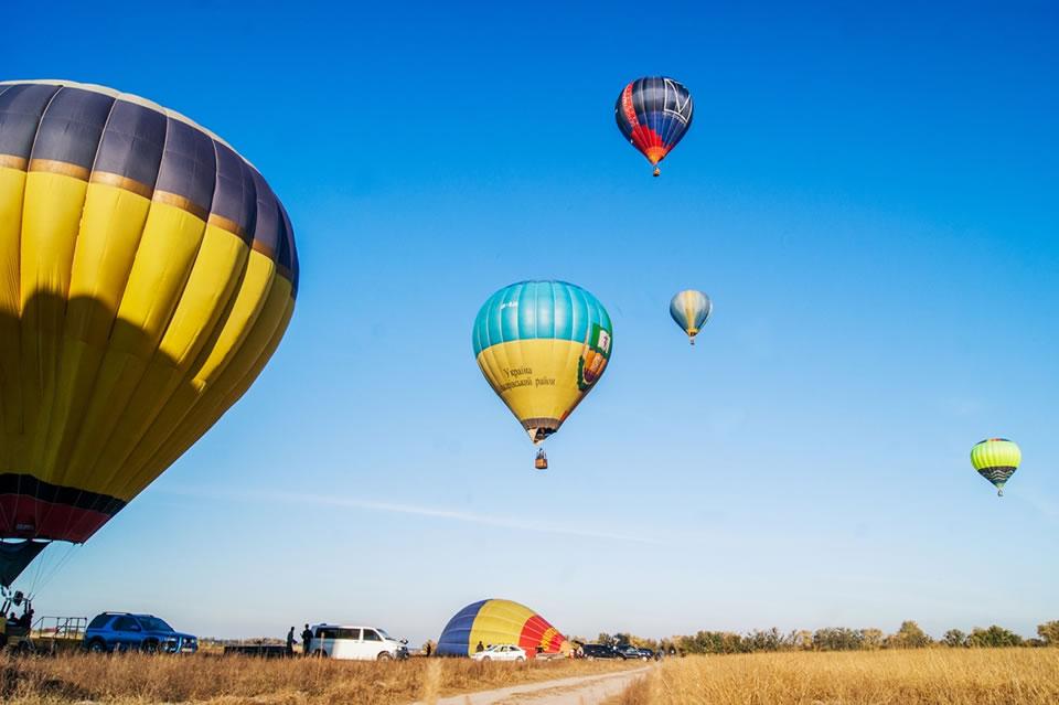 Фестиваль воздушных шаров состоится под Киевом