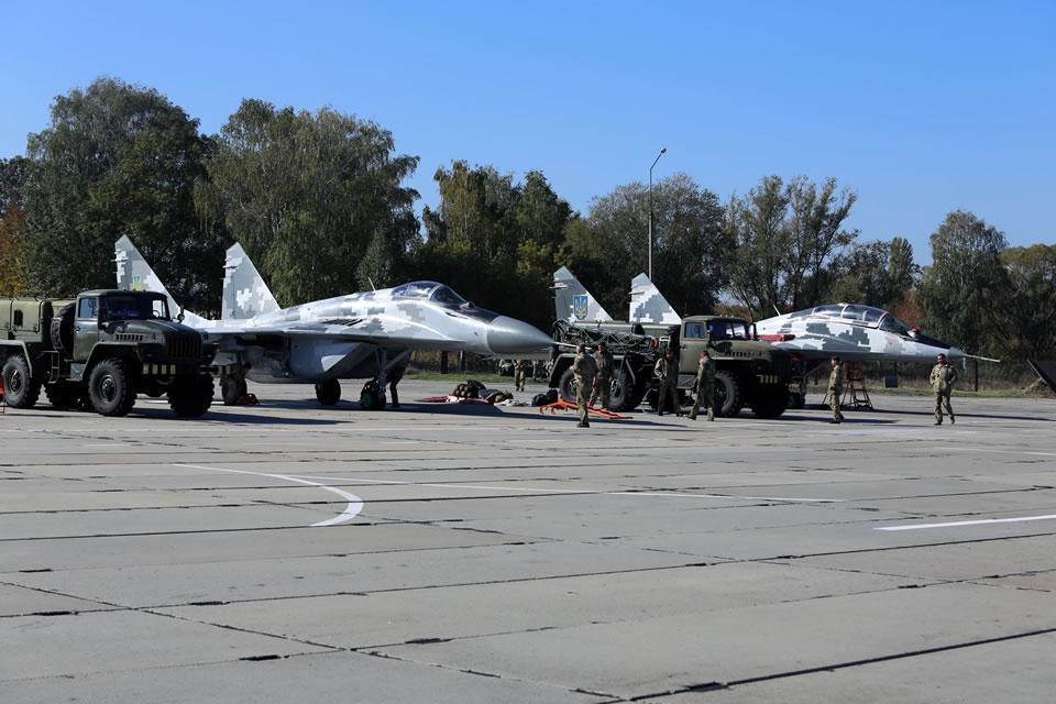 В Воздушных Силах успешно завершилась командно-штабная тренировка