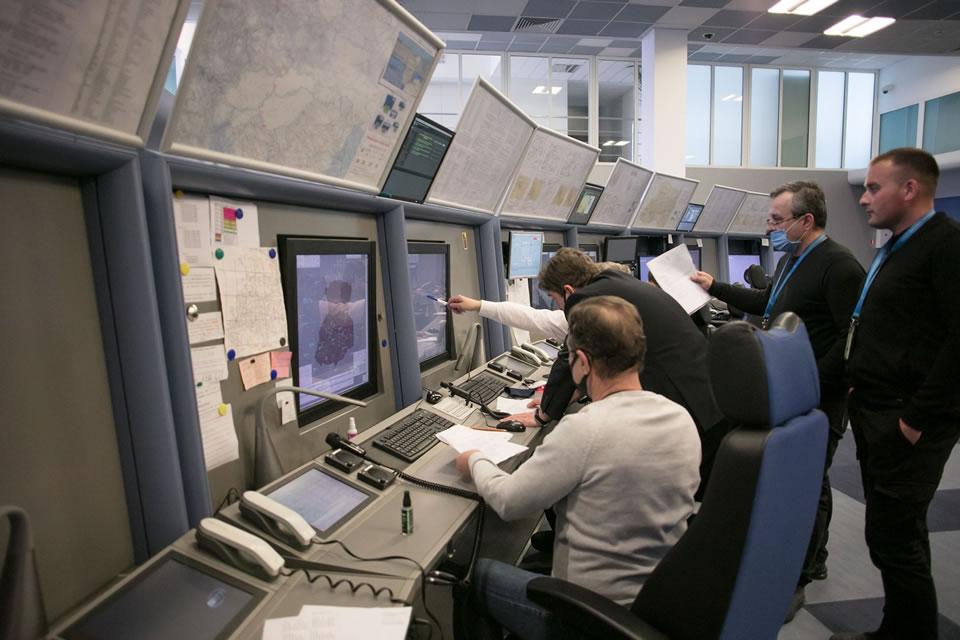 Украэрорух провел летную проверку новой системы управления воздушным движением во Львове