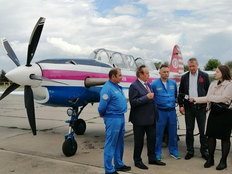 Начались испытания нового украинского самолета